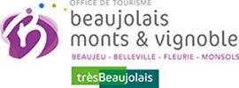Logo de l'office de tourisme Beaujolais monts et vignoble