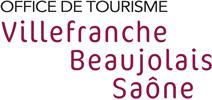 Logo de l'office de tourisme Villefranche Beaujolais Saône.