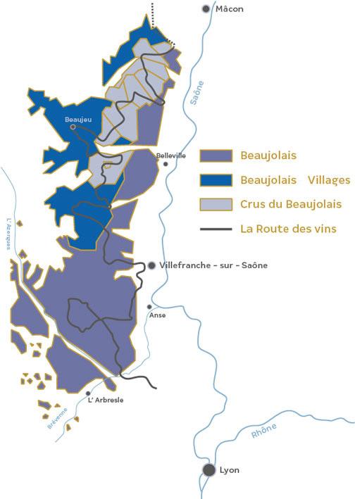 beaujolais villages ; appellation