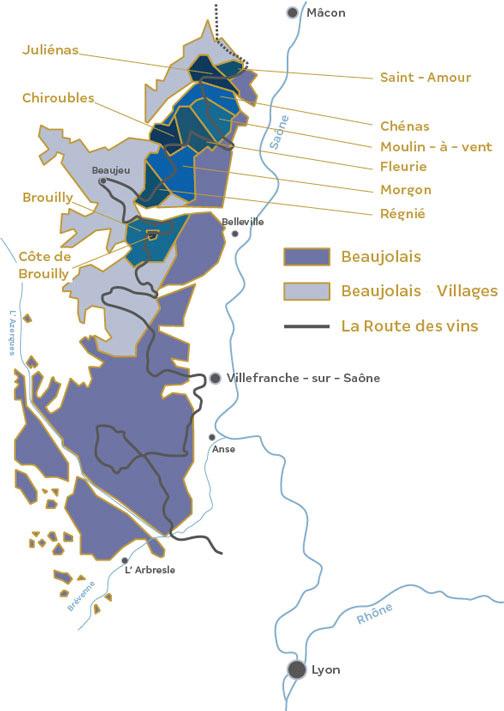 Crus du Beaujolais