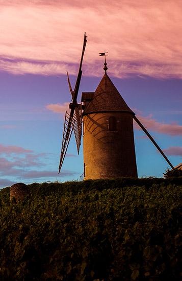 moulin à vent, crus, Romanèche-Thorins.