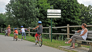La Voie Verte, vélo, Beaujolais.